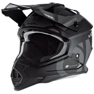 ONeal 2 Series RL Slick Black Grey Helmet