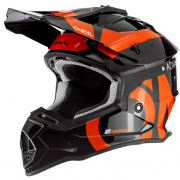 ONeal 2 Series RL Slick Black Orange Helmet