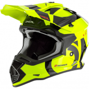 ONeal 2 Series RL Slick Neon Yellow Black Helmet
