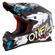 ONeal 3 Series Kids Villain White Helmet