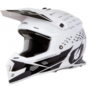 ONeal 5 Series Trace Black White Motocross Helmet