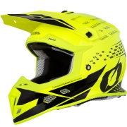 ONeal 5 Series Trace Black Neon Yellow Motocross Helmet