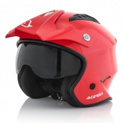 Acerbis Jet Aria Red Trials Helmet