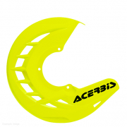 Acerbis X-Brake Front Fluo Yellow Disc Protector - Cover Only