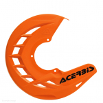 Acerbis X-Brake Front Orange Disc Protector - Cover Only