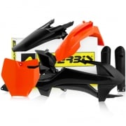 Acerbis Ltd Edition TLD Plastic Kit - KTM SXF - Back In Black