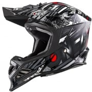 ONeal 8 Series Synthy Black Motocross Helmet