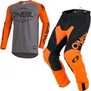 ONeal Mayhem Lite Hexx Orange Kit Combo