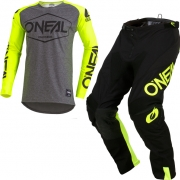 ONeal Mayhem Lite Hexx Neon Yellow Kit Combo