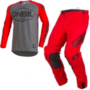 ONeal Mayhem Lite Hexx Red Kit Combo
