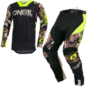 ONeal Mayhem Lite Ambush Neon Yellow Kit Combo