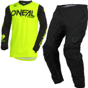 ONeal Threat Rider Neon Yellow Kit Combo