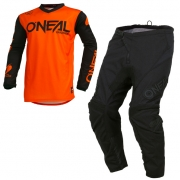 ONeal Threat Rider Orange Kit Combo