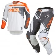 ONeal Hardwear Rizer Grey Orange Kit Combo