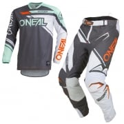 ONeal Hardwear Rizer Grey Mint Kit Combo