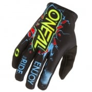 ONeal Matrix Villain Black Motocross Gloves