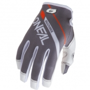 ONeal Mayhem Rizer Grey Motocross Gloves