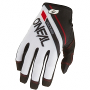 ONeal Mayhem Rizer White Motocross Gloves