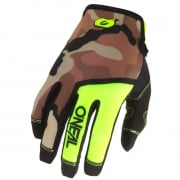 ONeal Mayhem Ambush Neon Yellow Motocross Gloves