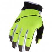 ONeal Revolution Neon Yellow Motocross Gloves