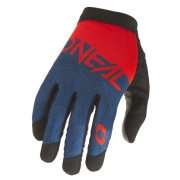 ONeal AMX Altitude Red Blue Motocross Gloves