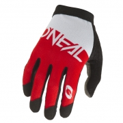 ONeal AMX Altitude White Red Motocross Gloves