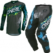 ONeal Kids Element Villain Grey Kit Combo