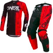 ONeal Kids Element Shred Red Kit Combo