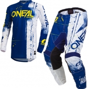 ONeal Kids Element Shred Blue Kit Combo