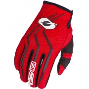 ONeal Kids Element Red Motocross Gloves