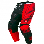 ONeal Kids Element Shred Red Pants