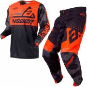 Answer Elite Discord Black Orange Kit Combo