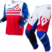 Answer Elite Discord Red White Kit Combo