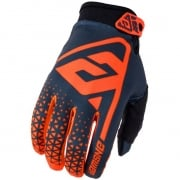 Answer AR-1 Flo Orange Black Gloves