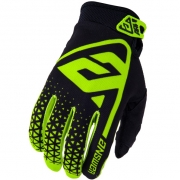 Answer AR-1 Kids Hyper Acid Black Gloves