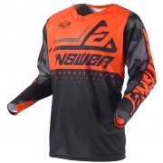 Answer Elite Discord Black Orange Jersey