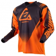 Answer Syncron Kids Drift Flo Orange Charcoal Jersey