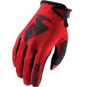 Thor Kids Sector Zones Red Gloves