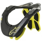 Alpinestars Tech 2 Bionic Black Fluo Yellow Neck Support