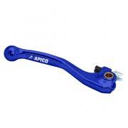 Apico Blue Elite Forged Brake Lever - Honda