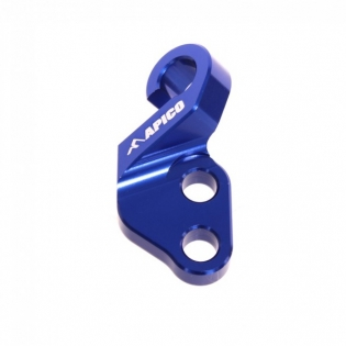 Apico Blue CNC Clutch Cable Guide - Yamaha