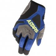Alpinestars Venture R Blue Yellow Fluo Gloves