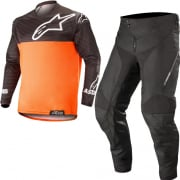 Alpinestars Venture R Orange Fluo Black Enduro Kit Combo