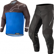 Alpinestars Venture R Black Blue Enduro Kit Combo