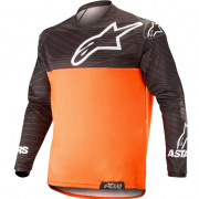 Alpinestars Venture R Orange Fluo Black Enduro Jersey