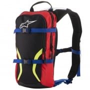 Alpinestars Iguana Black Blue Red Yellow Fluo Hydration Backpack