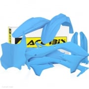 Acerbis Plastic Kit - Kawasaki KXF - Light Blue