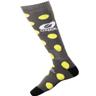 ONeal MX Candy Black Yellow Boot Socks