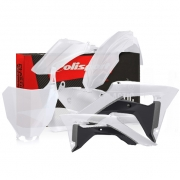 Polisport Honda Plastic Kit - Clear Transparent