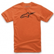 Alpinestars Kids Ageless Orange Black T Shirt